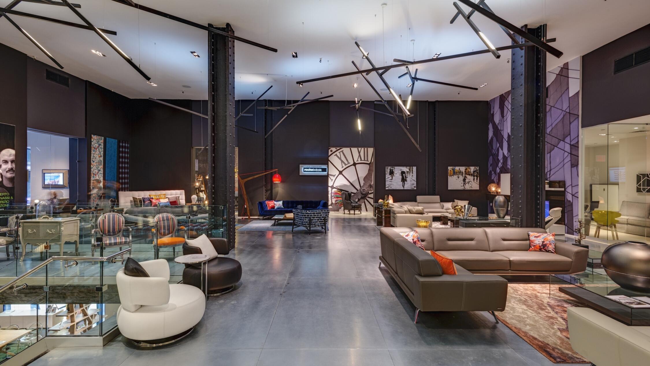 200 Madison interior common area lounge