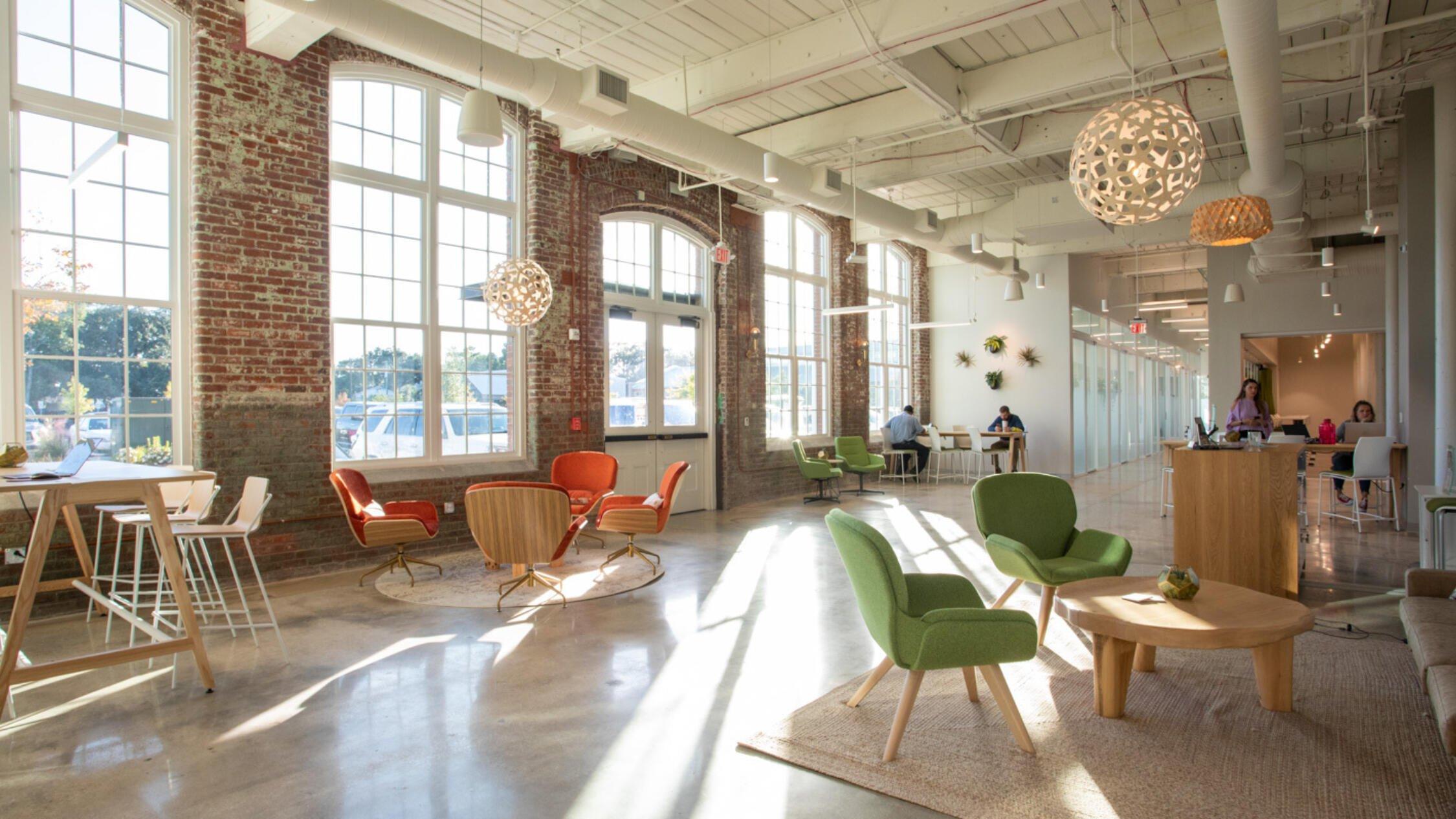 GARCo Mill open floor plan office space