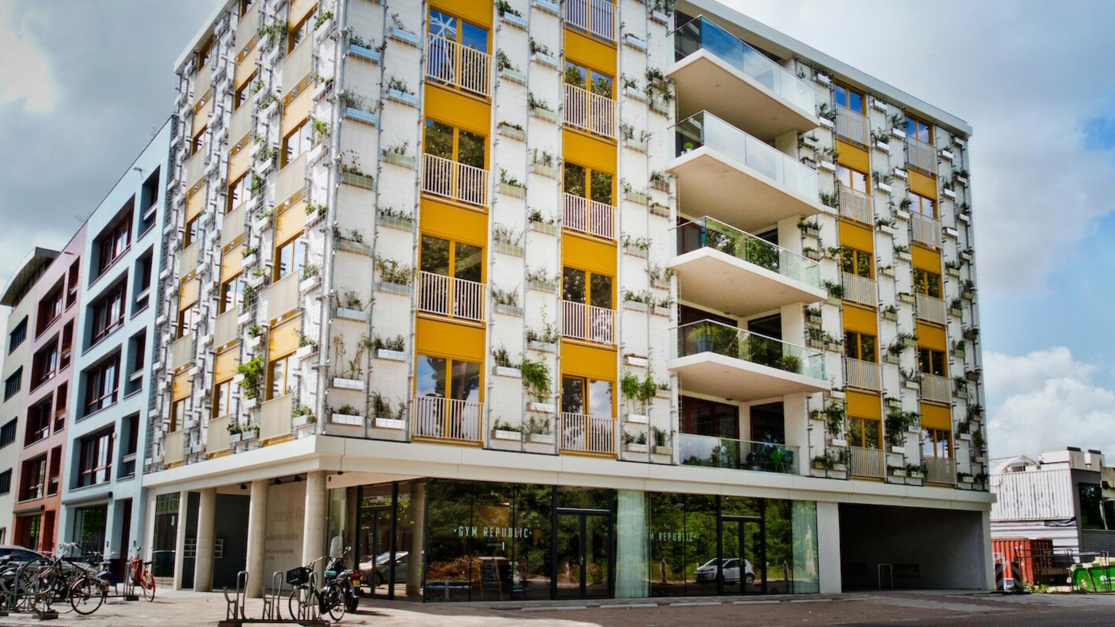 Schinkel Portfolio building facade