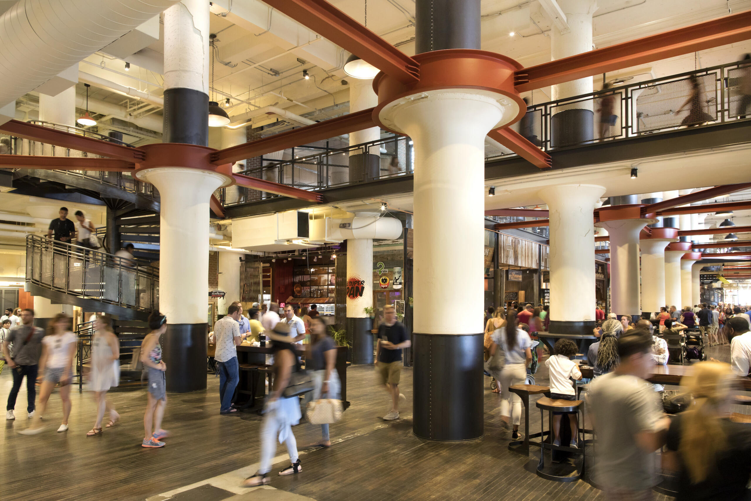 Central Food Hall of Ponce City Market