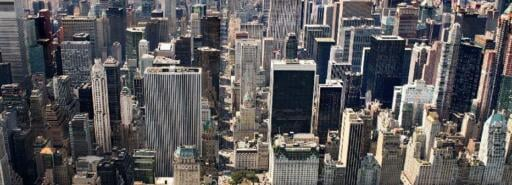 Madison Avenue Portfolio and New York City from above