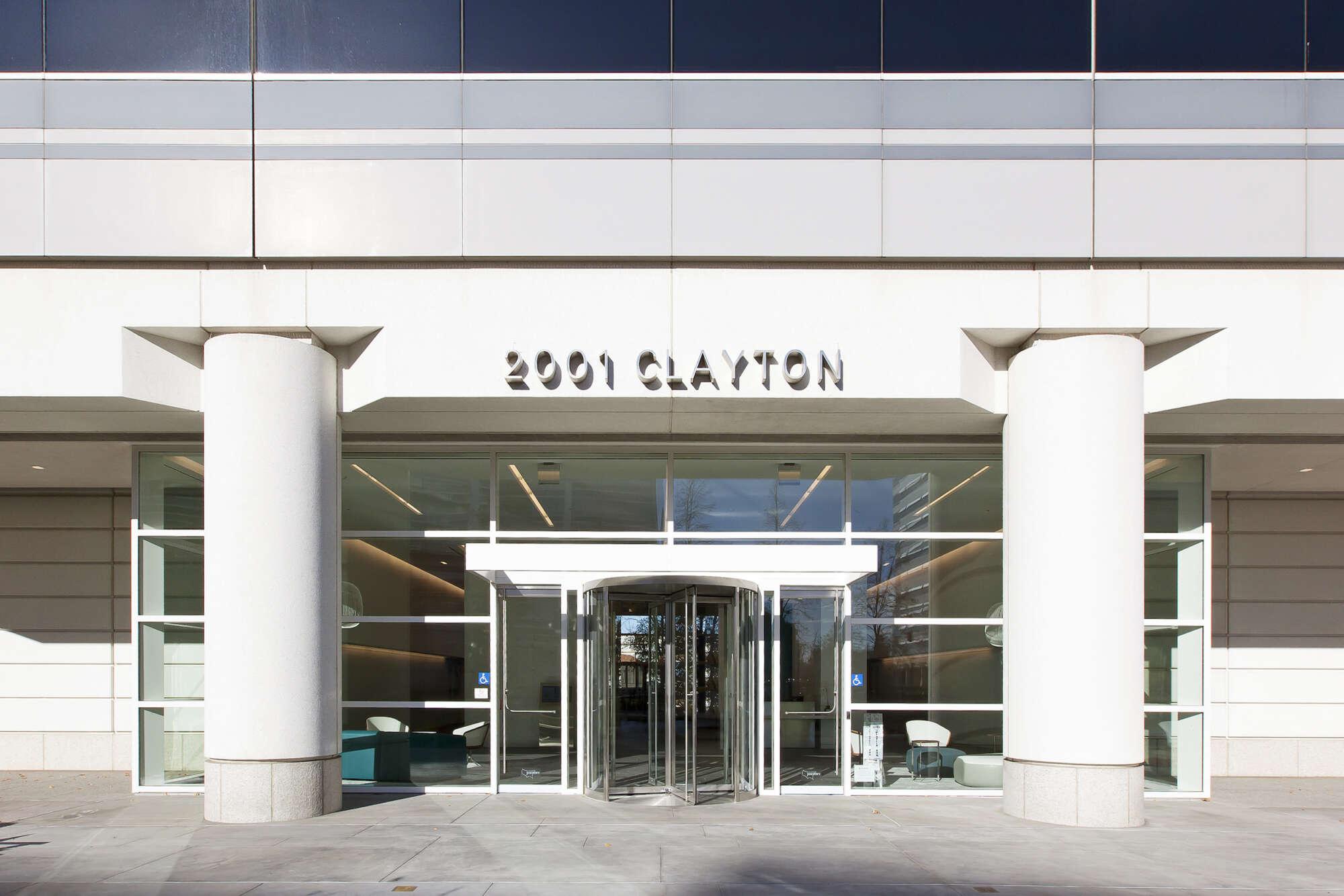 2001 Clayton exterior lobby entrance
