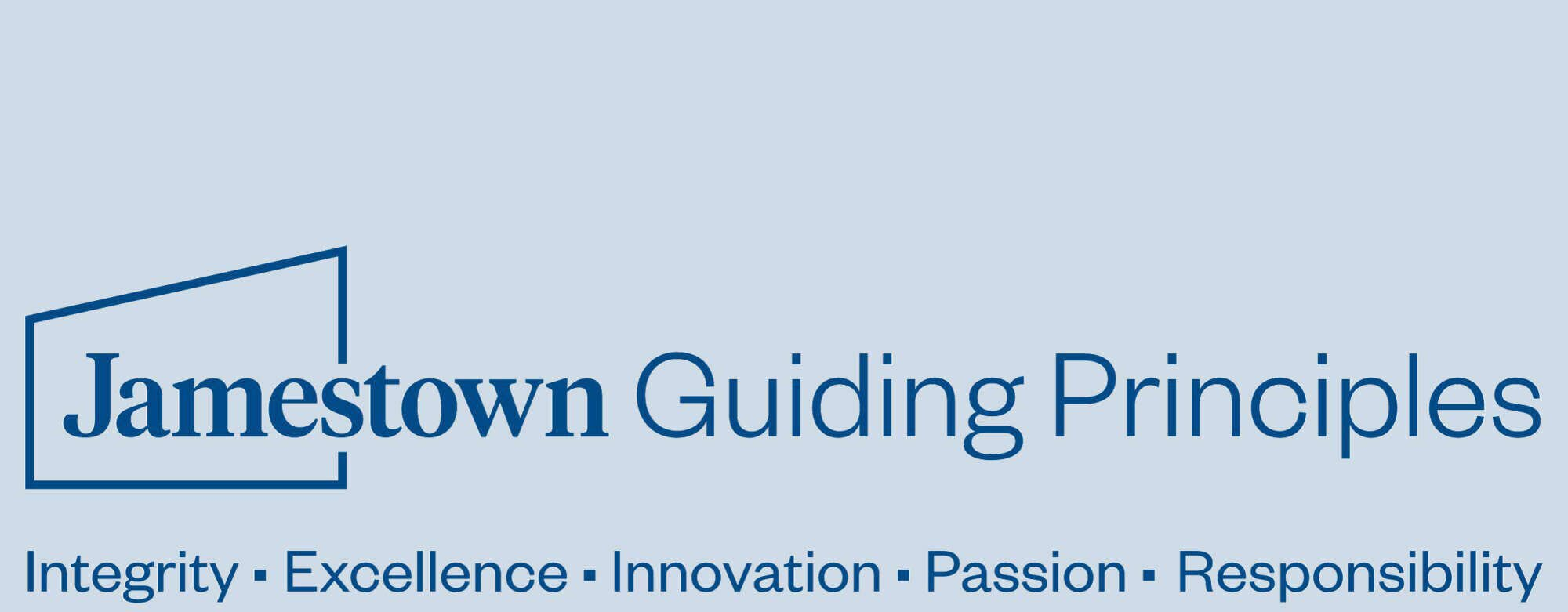 Logo for Jamestown Guiding Principles